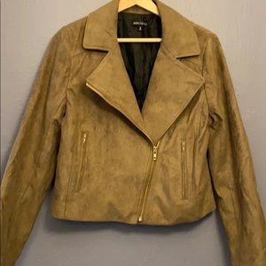 J. Crew Mercantile Faux Suede Jacket